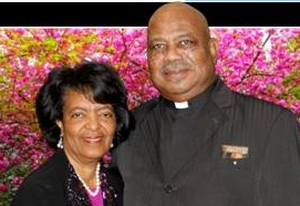 Rev. Johnny Collins and Mayor Thelma Collins