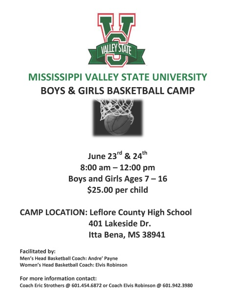 MVSU Basketball Camp 2015