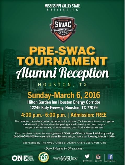 pre Swac Tournament Alumni Reception