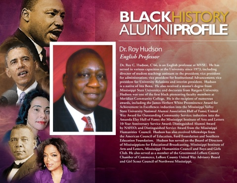Alumni Black History Profile_Roy hudson