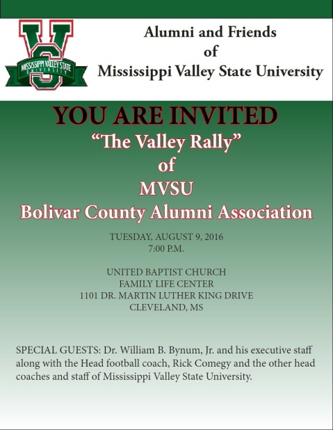 Bolivar County Valley Rally 2016