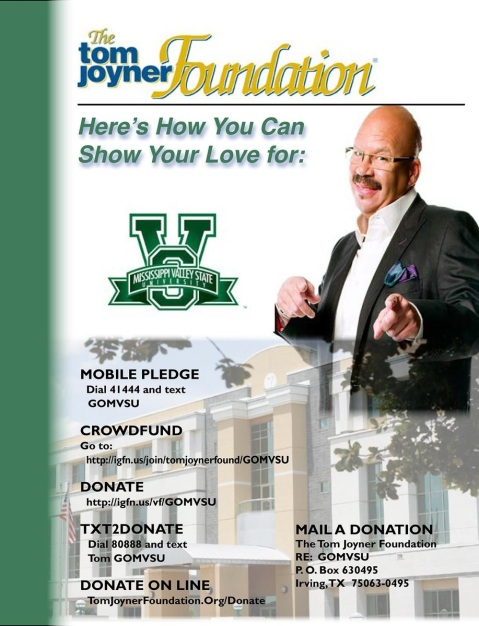 TOM JOYNER AUGUST SCHOOL OF THE MONTH